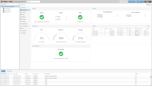 Proxmox VE 6.1 - cluster summary dashboard